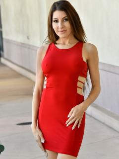 Her Red Dress